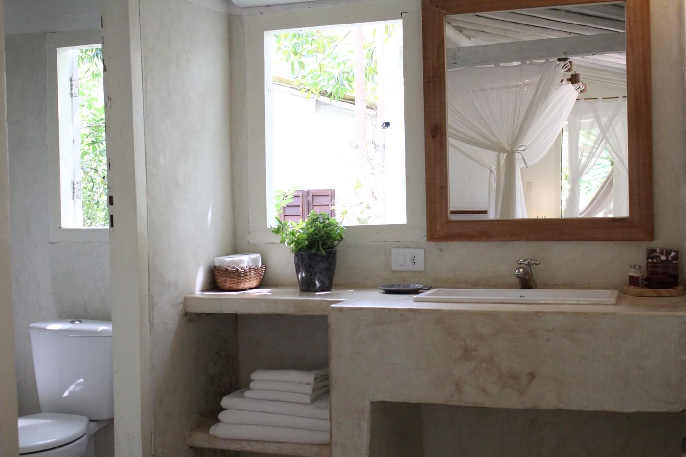 bangalô branco - apartamento triplo