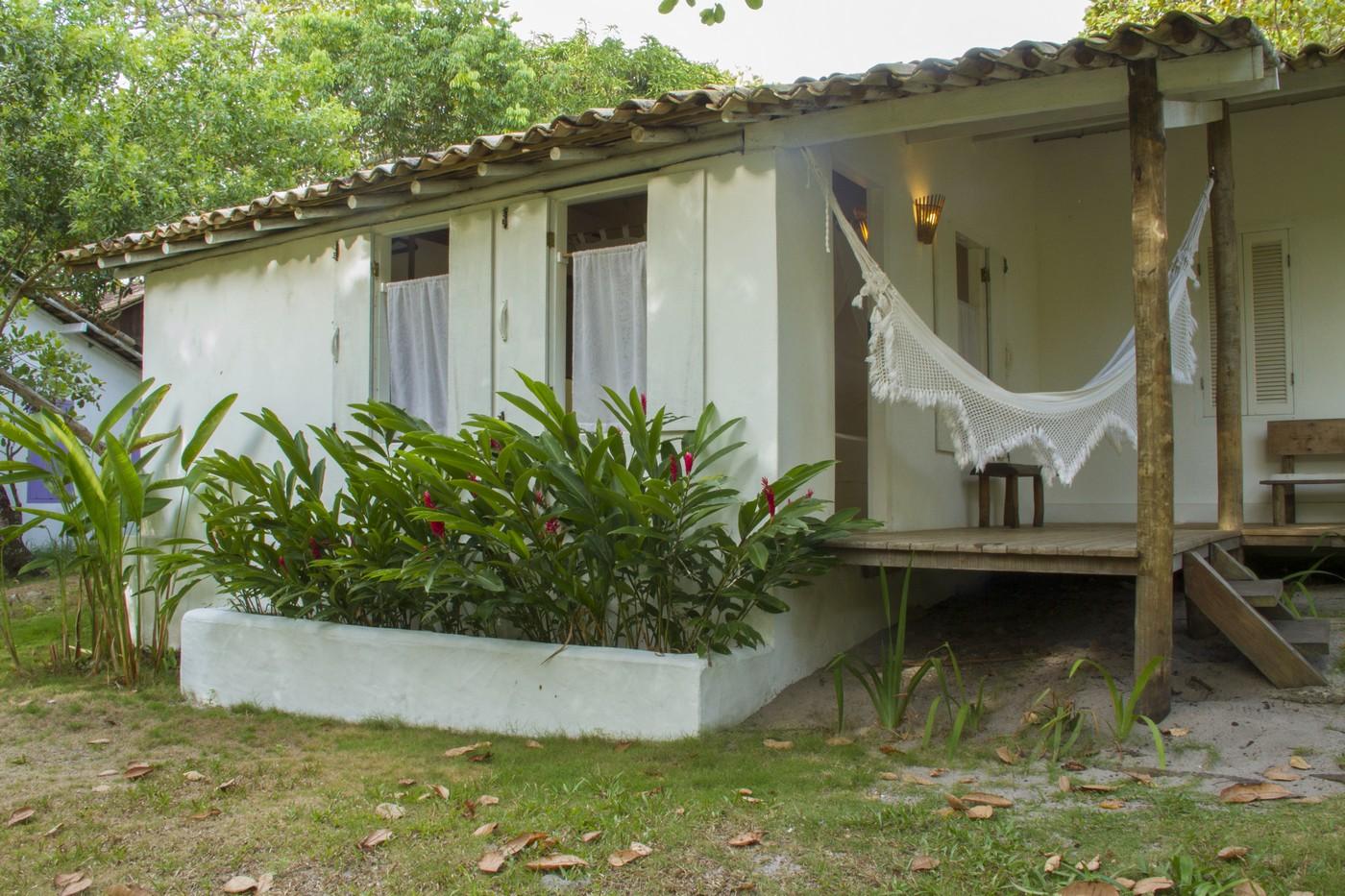 bangalô branco - apartamento casal