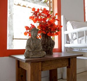 bangalô laranja